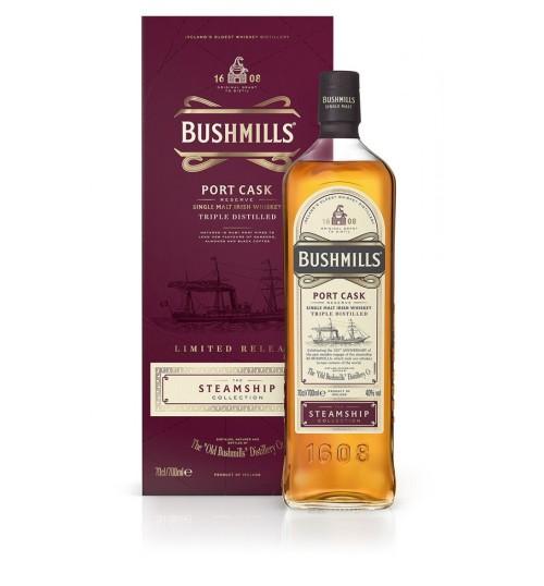 Bushmills PORT CASK Reserve The Steamship Collection 40% 0.7l