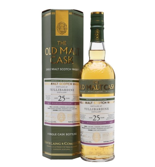 Hunter Laing The Old Malt Cask TULLIBARDINE 25YO 1992 46,1% 0,7l