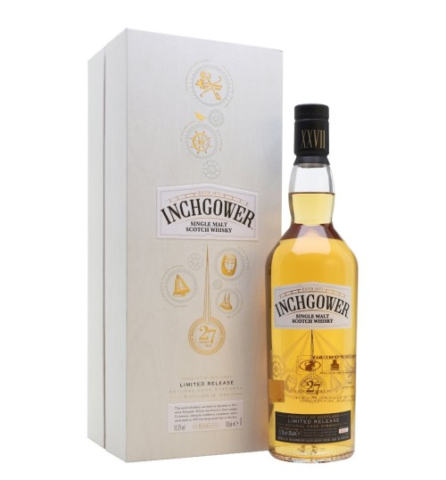 Inchgower 27YO Single Malt Whisky 55,3% 0.7l