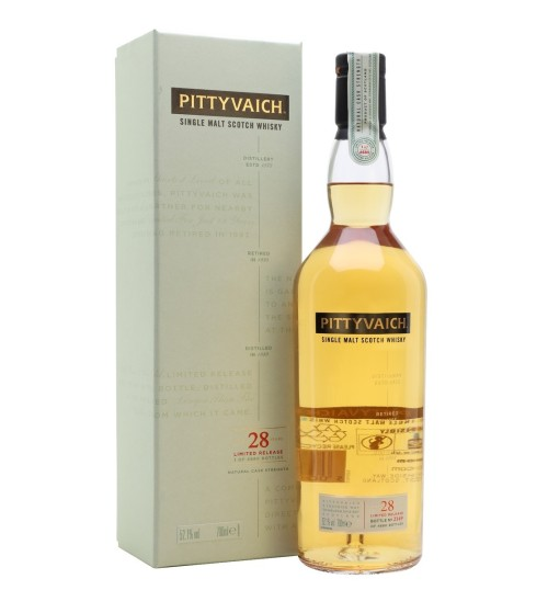 Pittyvaich 28YO Single Malt Whisky 52.1% 0.7l