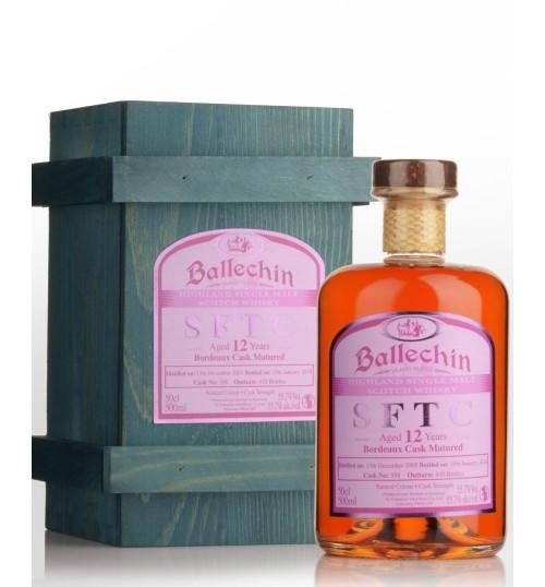 Edradour Ballechin SFTC 12YO Bordeaux 55.7% 0.5l