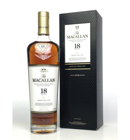 Macallan 18YO Sherry Oak Cask 43% 0,7 l