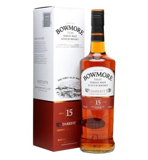 Bowmore 15YO DARKEST 43% 0,7 l