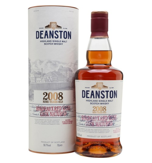 Deanston 9YO Bordeaux Red Wine Cask 58.7% 0,7l