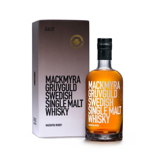Mackmyra Gruvguld Swedish Single Malt Whisky 46.1% 0.7l