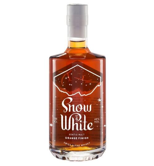 Säntis Malt Snow White No. 6 Limited Edition Orange Finish 48% 0,5 l