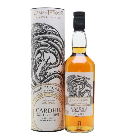 Cardhu Gold Reserve House Targaryen 40% 0.7l THE GAME OF THRONES