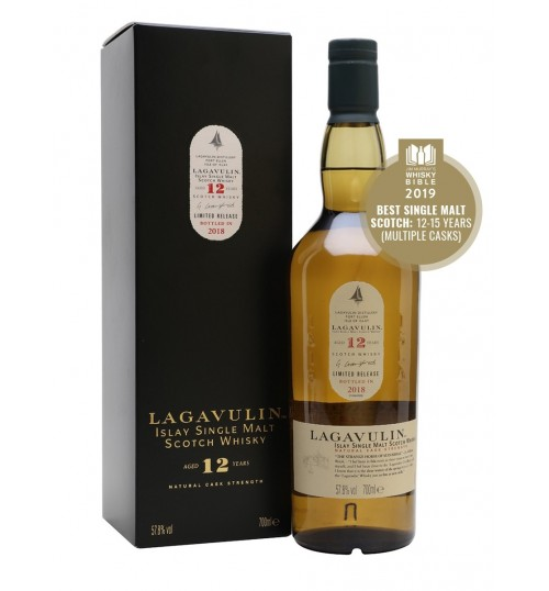 Lagavulin 12YO Natural Cask Strenght Limited Edition 2018 57.8% 0,7 l