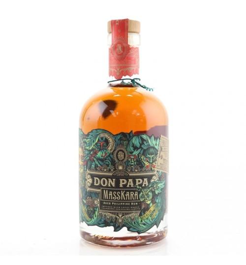Don Papa MASSKARA Aged Philippine Rum 40% 0.7l