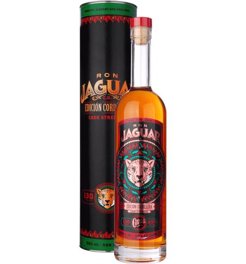Ron Jaguar EDICIÓN CORDILLERA 130 Proof Cask Strength 65% 0,5 l