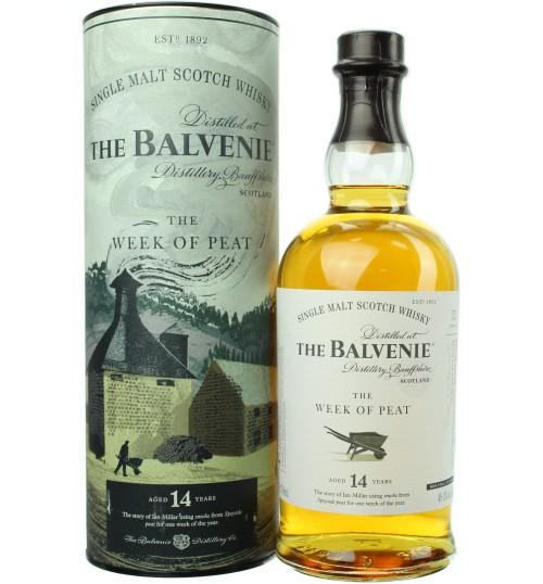 Balvenie 14YO The WEEK OF PEAT 48,3% 0,7 l