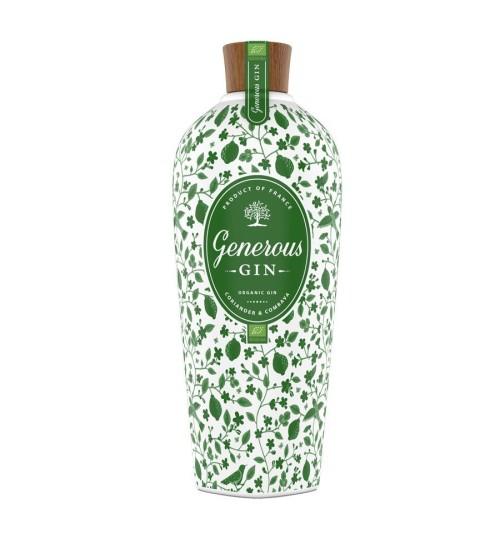 Generous Green Organic Gin CORIANDER & COMBAVA 44% 0,7 l