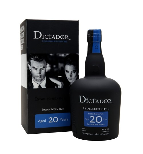 Dictador 20YO Destillery Icon Reserve 40% 0,7 l