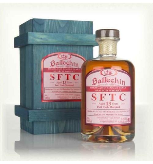 Edradour Ballechin SFTC 13YO Port Cask 55% 0.5l