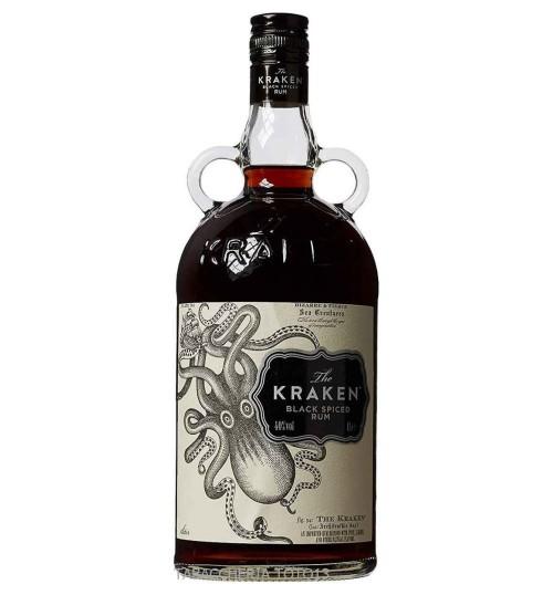 Kraken Black Spiced Rum 47% 1 l