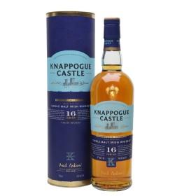 Knappogue Castle 16YO TWIN WOOD Irish Whiskey SHERRY CASK FINISHED 43% 0,7 l