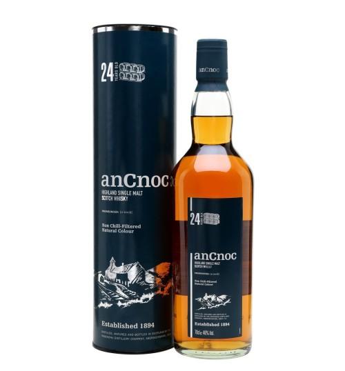 AnCnoc 24YO Single Malt Scotch Whisky 46% 0,7 l