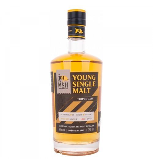 M&H Young Single Malt Triple Cask 46% 0,5 l