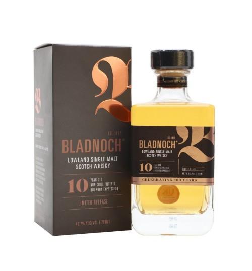 Bladnoch 10YO CELEBRATING 200 YEARS Limited Release 46,7% 0,7 l