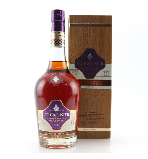 Courvoisier Masters Cask Collection SPANISH SHERRY CASKS Cognac 40% 0,7 l