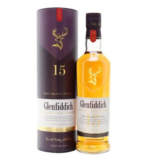 Glenfiddich 15YO OUR SOLERA FIFTEEN Single Malt Scotch Whisky 40% 0,7 l i