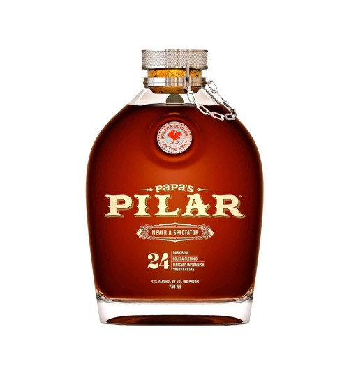 Papa's Pilar 24 Solera Profile DARK RUM 43% 0,7 l