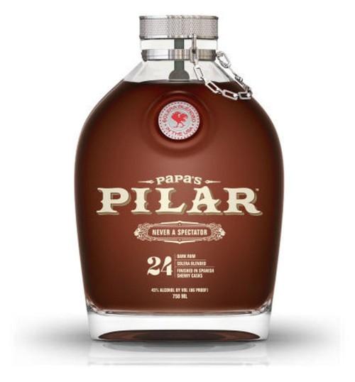 Papa's Pilar 24 Solera Profile DARK RUM SPANISH SHERRY CASKS Limited Edition 43% 0,7 l