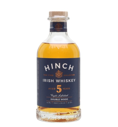 Hinch 5YO Double Wood Irish Whiskey 43% 0.7l
