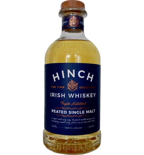 Hinch Peated Single Malt Irish Whiskey 43% 0.7l