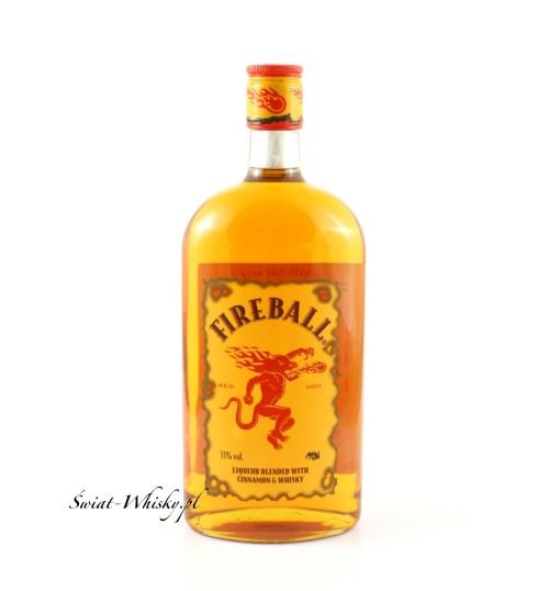 Fireball Cinnamon Whisky Liqueur 33% 1,0l