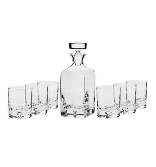 Komplet do whisky Legend (7 elementów) Karafka+szklanki