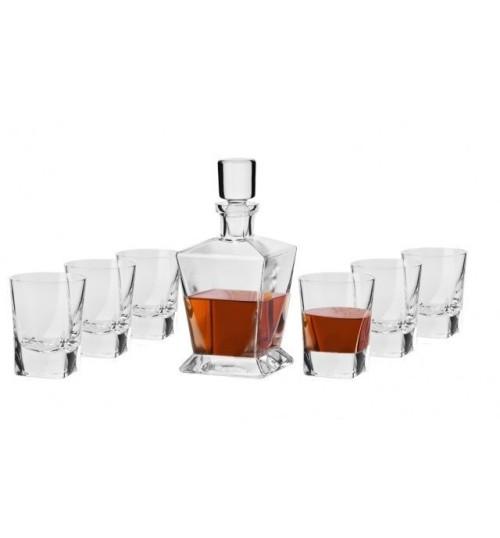Komplet do whisky Caro (7 elementów)