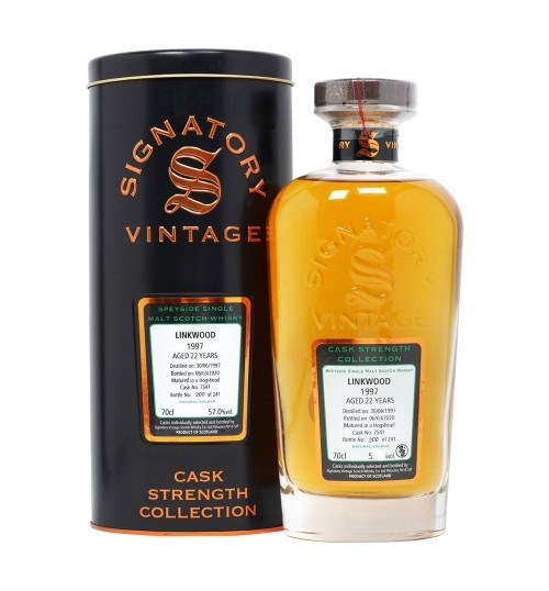 Linkwood 21yo Signatory Vintage 1997 Cask Strength Collection 59,7% 0,7 l