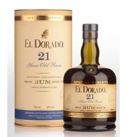 El Dorado Special Reserve 21YO 43% 0,7 l