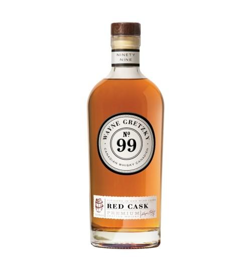 Wayne Gretzky N°99 Canadian Whisky RED CASK 40% 1l