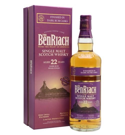 BenRiach 22YO Dark Wood Rum Finish 46% 0,7 l