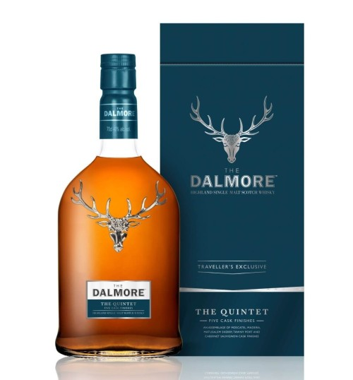 Dalmore THE QUINTET 44,5% 0,7l