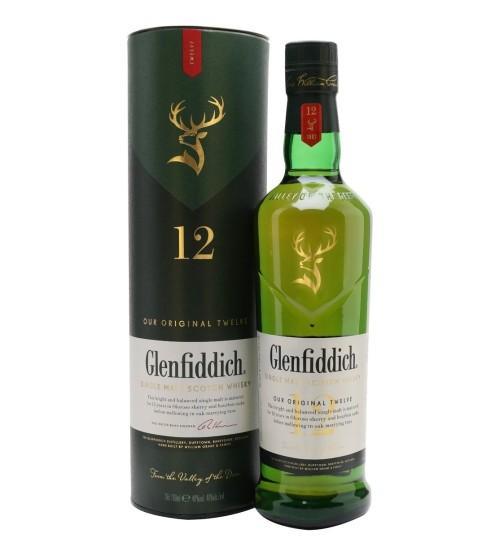 Glenfiddich 12YO 40% 0,7 l