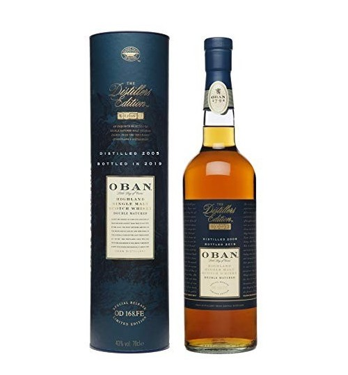 Oban 14yo Distillers Edition 2017/2003 Montilla Fino Cask 43% 0,7 l