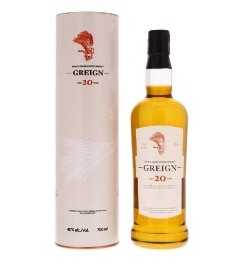 Greign 20YO Single Grain Scotch Whisky 40% 0,7l