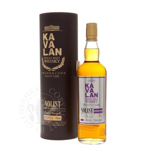 Kavalan SOLIST Single Malt Whisky PEATY CASK Single Cask Strength 50,8% 0,7l