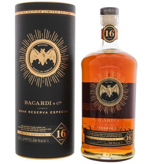 Bacardi 16YO Gran Reserva Especial Limited Edition 40%1l