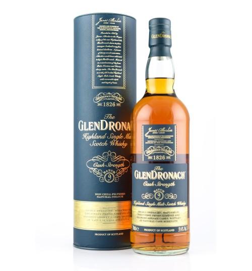 GlenDronach Cask Strength Batch 09 59.4% 0,7 l