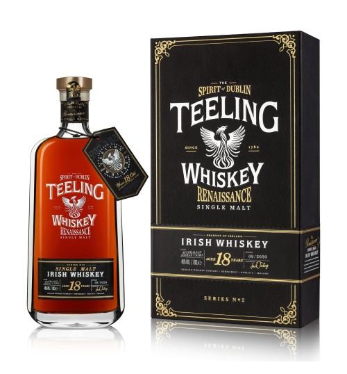 Teeling Whiskey 18YO RENAISSANCE Single Malt Series II 46% 0,7l