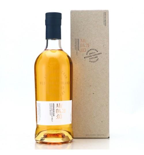 Ardnamurchan - AD/04.21:03 Scotch whisky 46.8% 0.7l