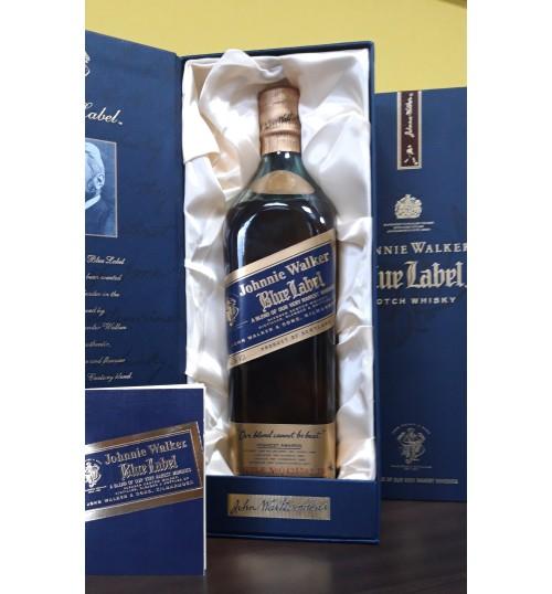 Johnnie Walker Blue Label 43% 0,75l - kolekcjonerska edycja sprzed 2004 roku