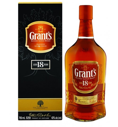 Grant's 18YO 40% 0.7l