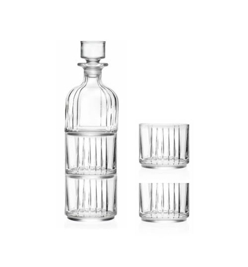 Zestaw Butelka z korkiem Combo RCR 335ml plus 2 szklanki 370ml