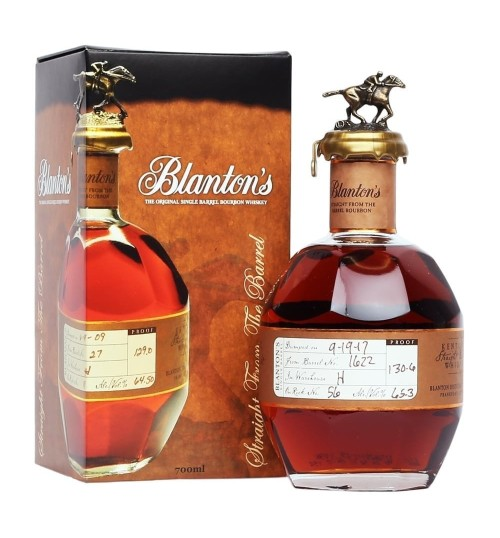 Blanton's Straight From The Barrel 63,65% 0,7 l